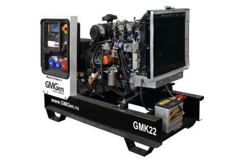Дизельный генератор GMGen GMK22 с АВР