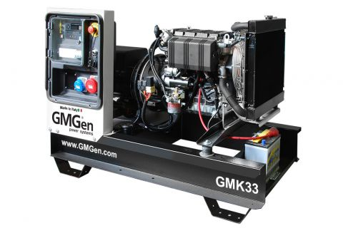 Дизельный генератор GMGen GMK33