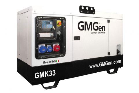 Дизельный генератор GMGen GMK33 в кожухе