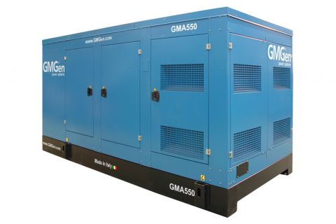 Дизельный генератор GMGen GMA550 в кожухе с АВР