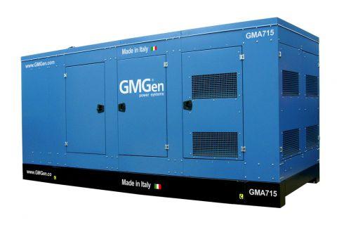 Дизельный генератор GMGen GMA715 в кожухе с АВР