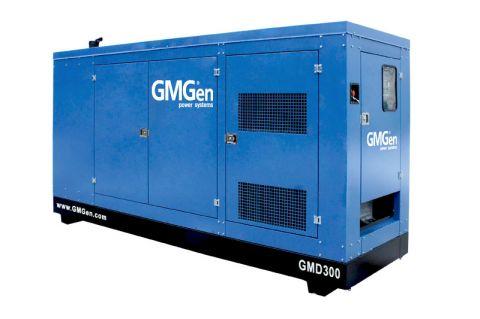 Дизельный генератор GMGen GMD300 в кожухе с АВР