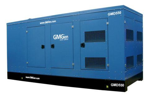 Дизельный генератор GMGen GMD550 в кожухе с АВР