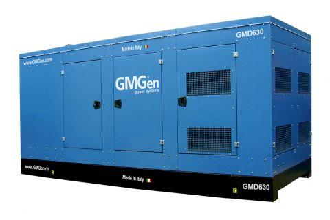 Дизельный генератор GMGen GMD630 в кожухе с АВР