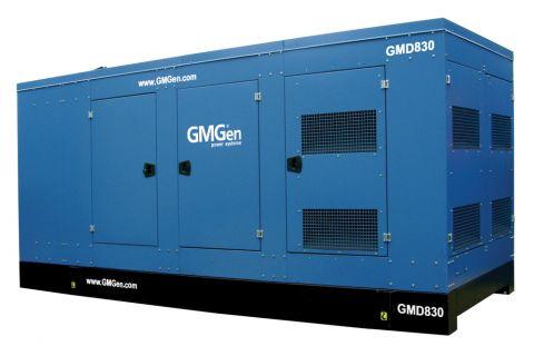 Дизельный генератор GMGen GMD830 в кожухе с АВР