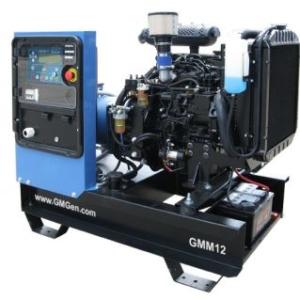 Дизельный генератор GMGen GMM12 с АВР
