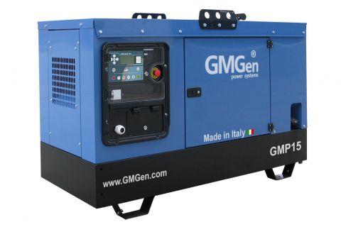 Дизельный генератор GMGen GMP15 в кожухе с АВР