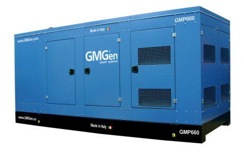 Дизельный генератор GMGen GMP660 в кожухе