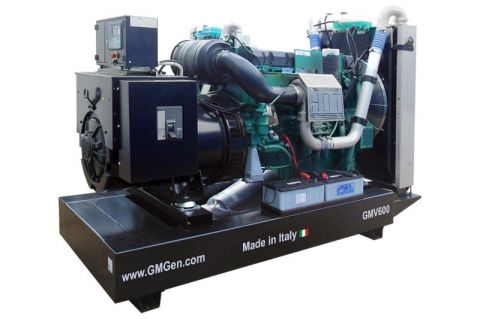 Дизельный генератор GMGen GMV600 в кохухе с АВР