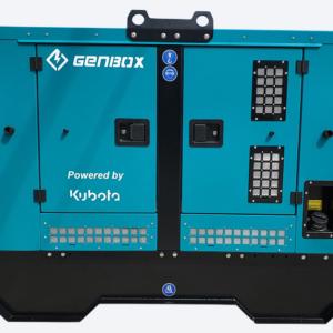 Дизельный генератор GENBOX KBT10M-S-3000 в кожухе