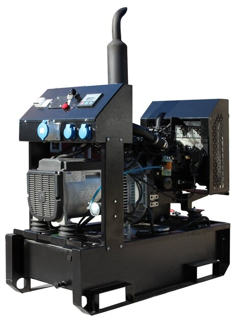 Дизельный генератор GENBOX KBT12M-3000 с АВР