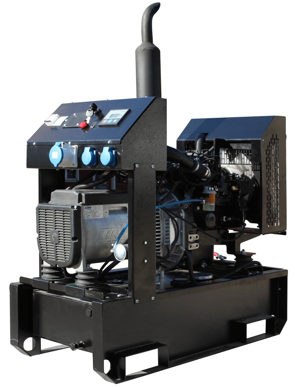 Дизельный генератор GENBOX JD200 с АВР