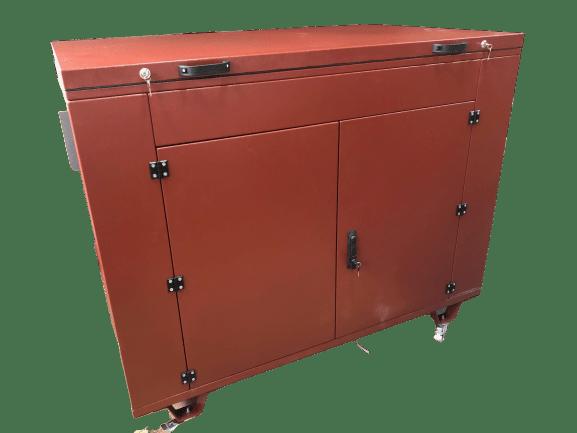 Бензогенератор ZONGSHEN PB 12003 E в контейнере с АВР