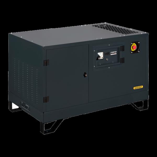 Газовый генератор Gazvolt Standard 12000 Т Neva 01 в кожухе с АВР