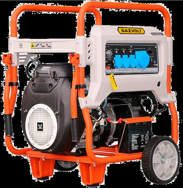 Газовый генератор Gazvolt Standard 10000 TA 01 с АВР