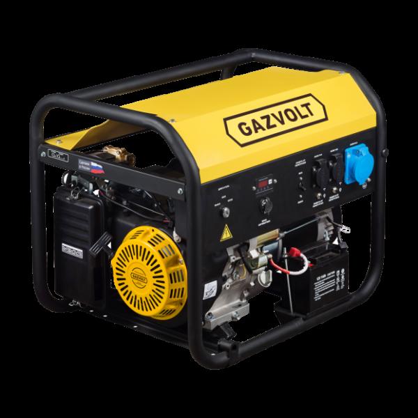 Газовый генератор Gazvolt Standard 6250 A SE 01 с АВР
