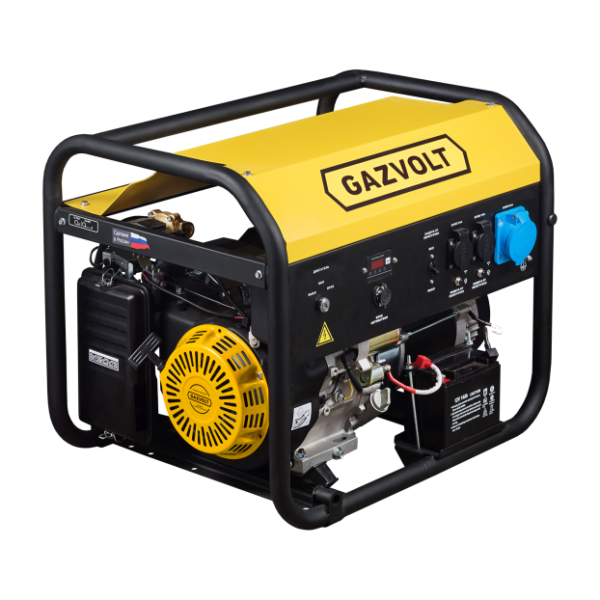 Газовый генератор Gazvolt Standard 7500 A SE 01