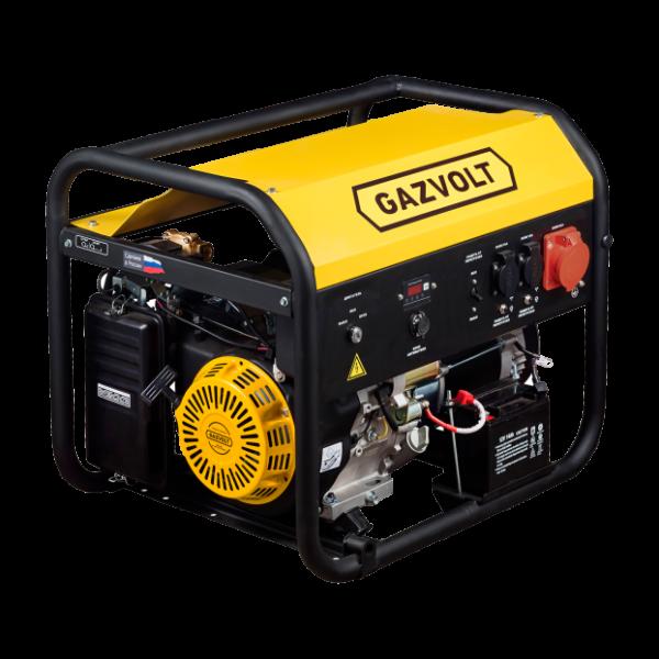 Газовый генератор Gazvolt Standard 7500 TA SE 01 с АВР