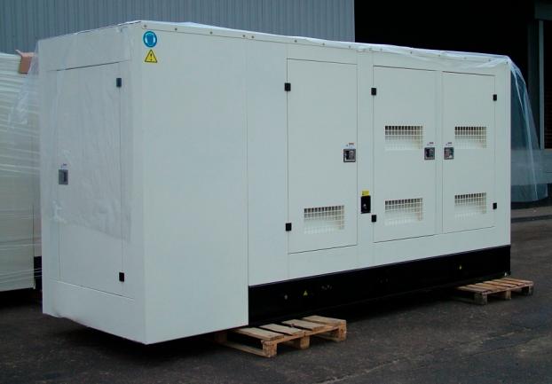 Газовый генератор Gazvolt 100T32 в кожухе с АВР