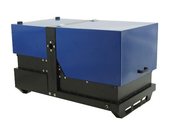 Газовый генератор REG GG12-230-SH в кожухе с АВР