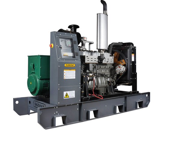 Газовый генератор Gazvolt 100T21 с АВР