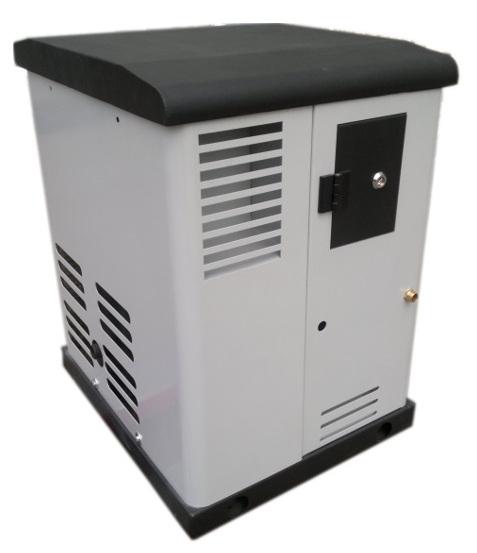 Газовый генератор REG GG6-230 SV в кожухе с АВР