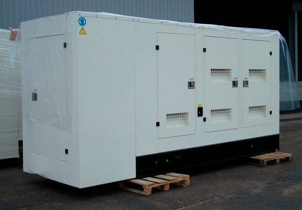 Газовый генератор Gazvolt 100T23 в кожухе с АВР