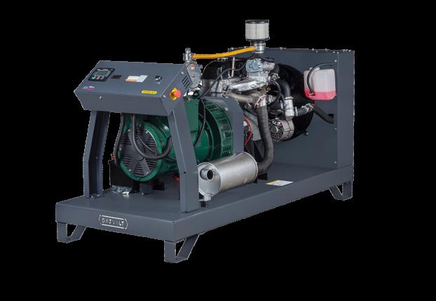 Газовый генератор Gazvolt Standard 12Т11 с АВР