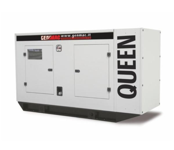 Дизельный генератор GENMAC Queen G200IS в кожухе с АВР