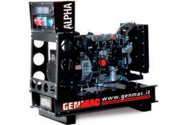 Дизельный генератор GENMAC Alpha RG30PO с АВР