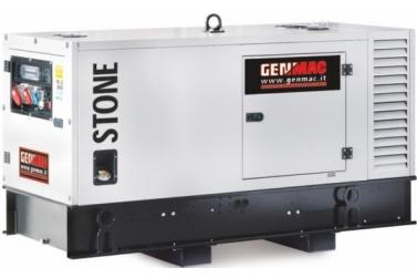 Дизельный генератор GENMAC Stone G45PS в кожухе с АВР