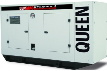 Дизельный генератор GENMAC Queen G125JS в кожухе