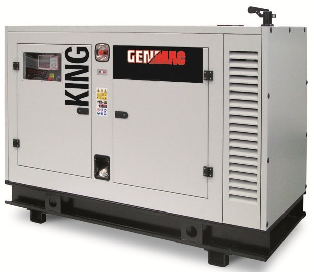Дизельный генератор GENMAC G60JS в кожухе с АВР
