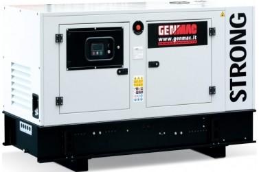 Дизельный генератор GENMAC G40IS в кожухе