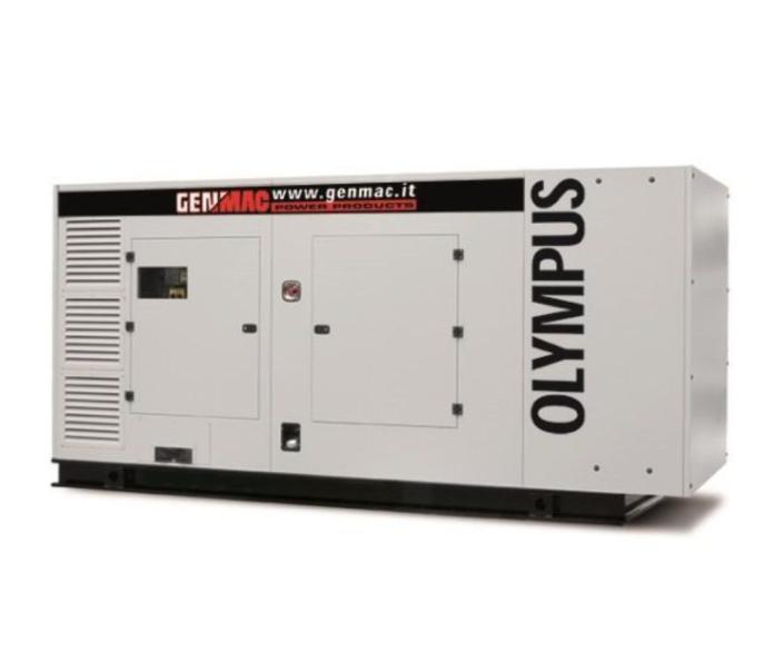 Дизельный генератор GENMAC Olympus G400SS в кожухе с АВР