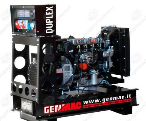 Дизельный генератор GENMAC Duplex RG20PO с АВР
