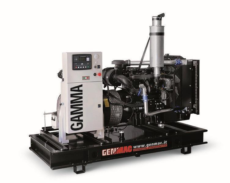 Дизельный генератор GENMAC G130PO