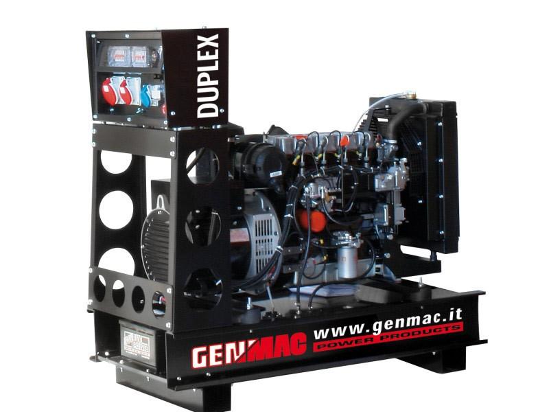 Дизельный генератор GENMAC Duplex G15PO с АВР