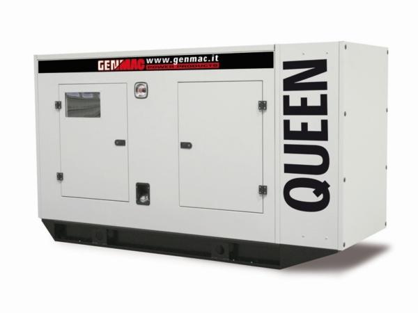 Дизельный генератор GENMAC Queen G160IS в кожухе