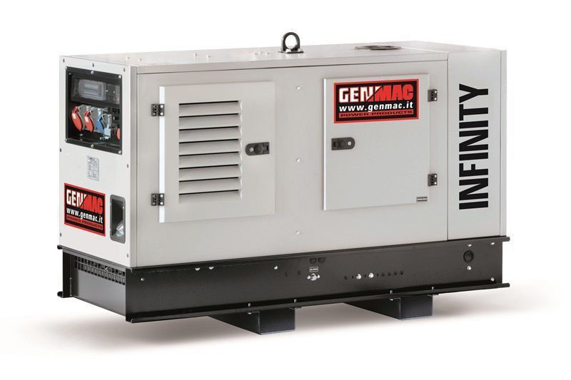 Дизельный генератор GENMAC Infinity G20PS в кожухе с АВР