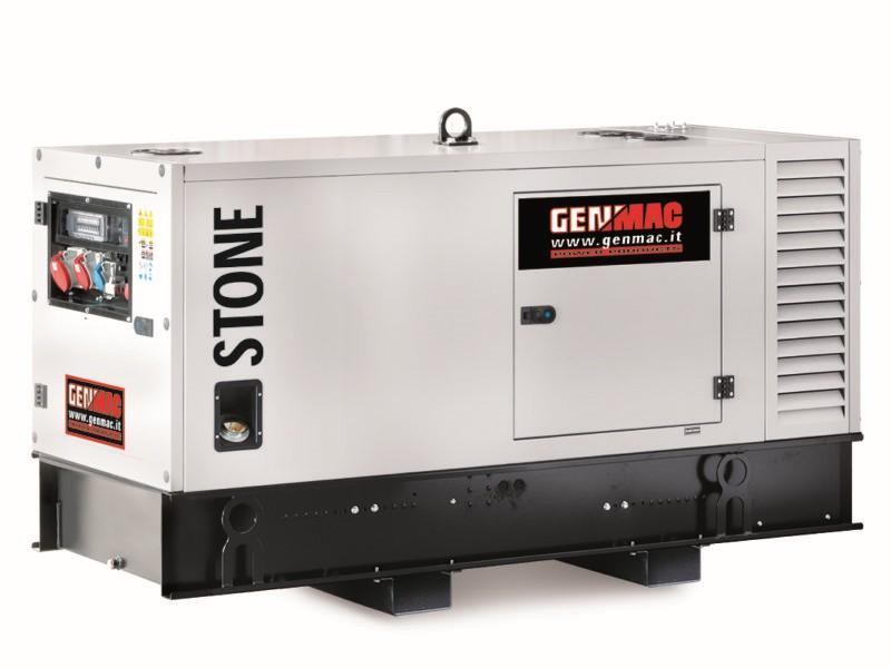 Дизельный генератор GENMAC Stone G30PS в кожухе с АВР