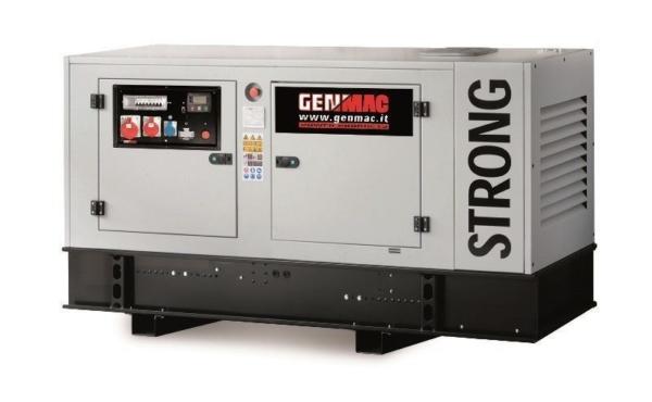 Дизельный генератор GENMAC Strong G30IS в кожухе