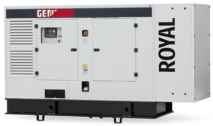 Дизельный генератор GENMAC G300PS в кожухе с АВР