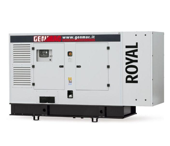 Дизельный генератор GENMAC Royal G300IS в кожухе с АВР