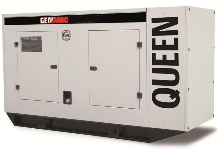 Дизельный генератор GENMAC G130PS в кожухе с АВР