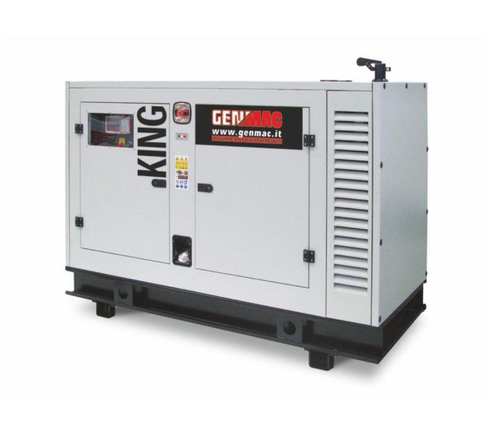 Дизельный генератор GENMAC King G100IS в кожухе с АВР
