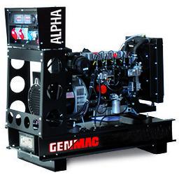 Дизельный генератор GENMAC G40JO с АВР