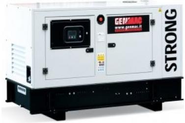 Дизельный генератор GENMAC RG45PS в кожухе с АВР