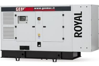 Дизельный генератор GENMAC Royal G250IS в кожухе с АВР
