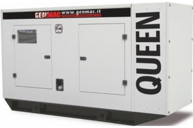 Дизельный генератор GENMAC Queen G130IS в кожухе с АВР